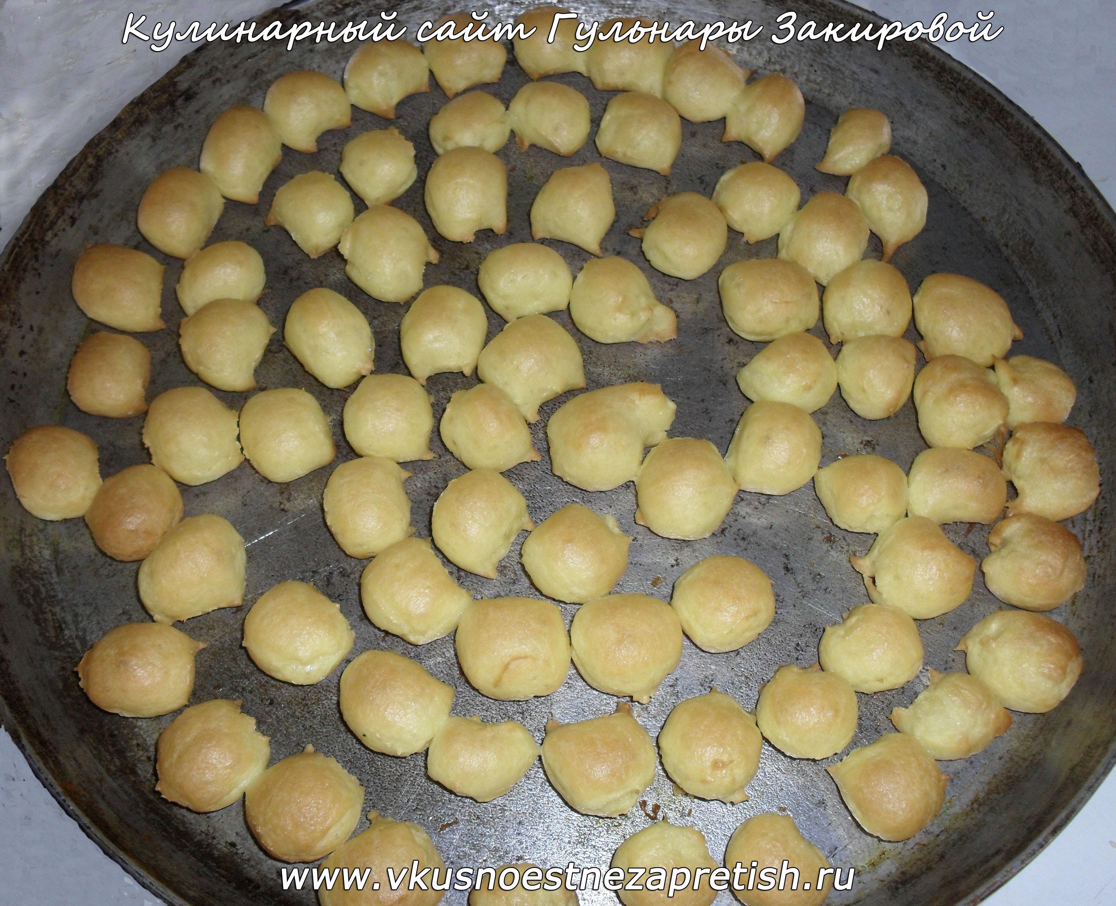 торт из шариков со сметанным кремом рецепт с фото