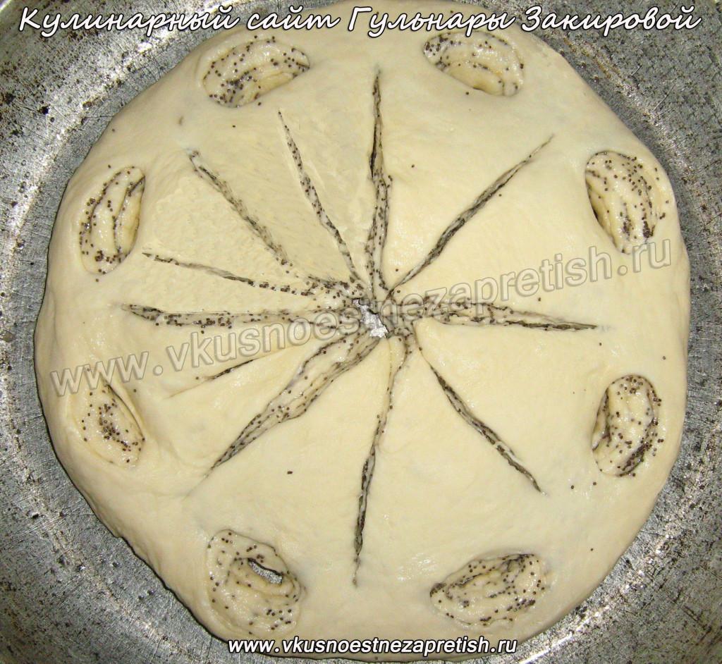 Пирог  Снежинка4