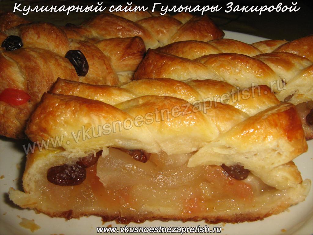 Пирожки в с яблоками в духовке рецепт пошагово