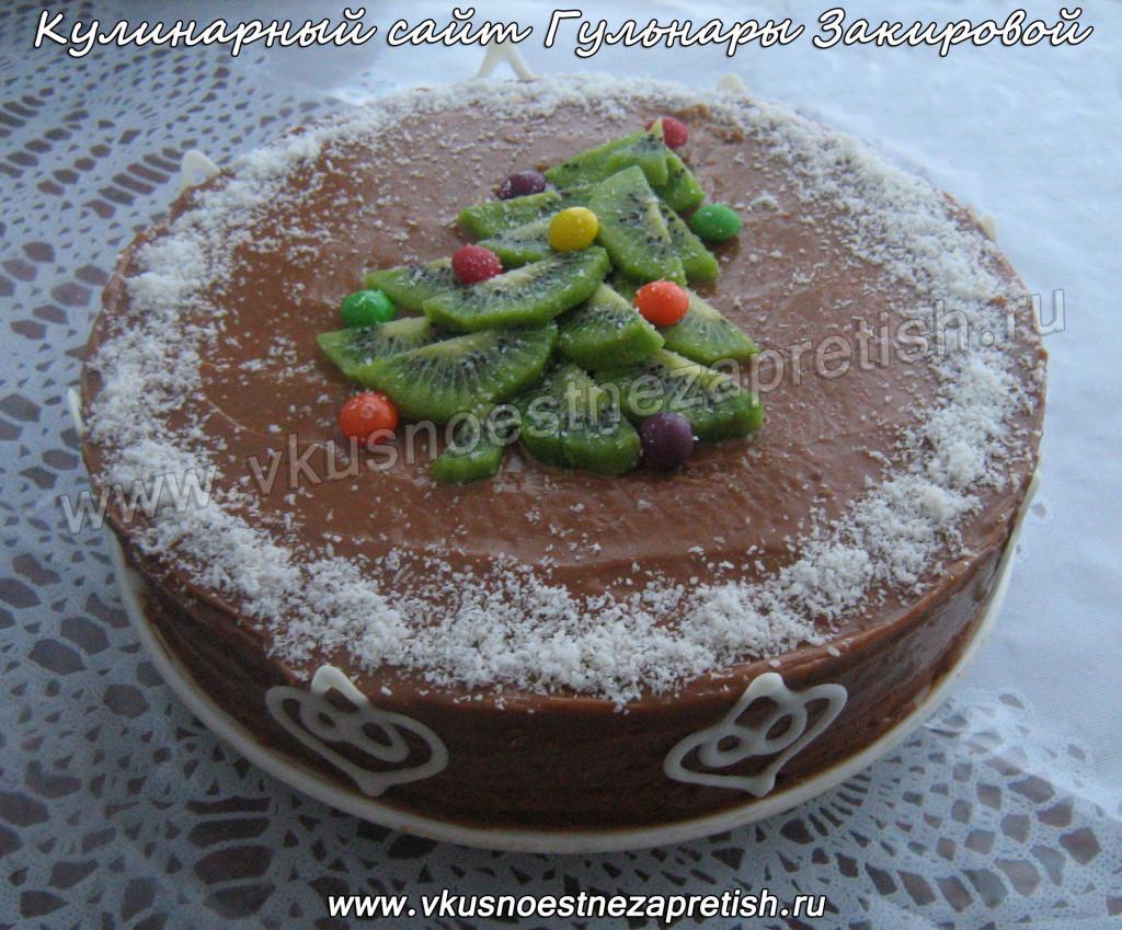 Торт Новый год