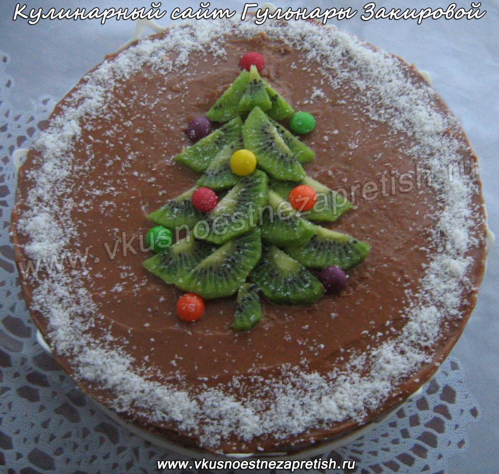 Торт Новый год1