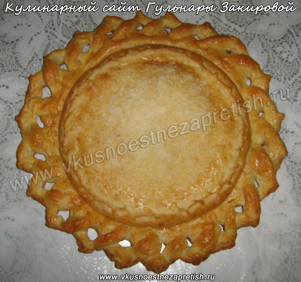 Пирог кружева