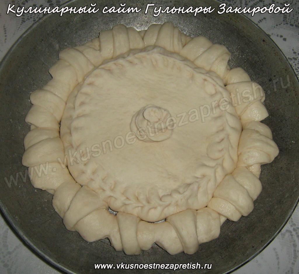 Пирог с черникой (4)