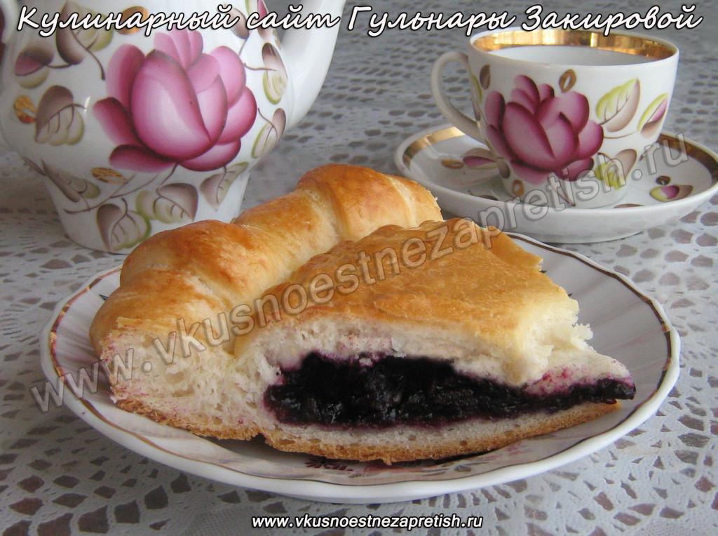 Пирог с черникой (5)