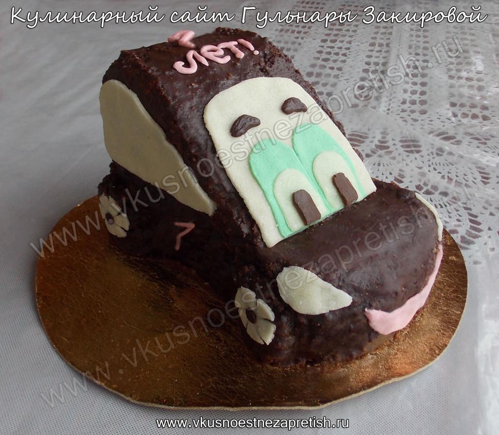 Торт машинка мальчику