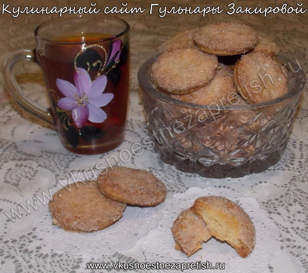 Печенье овсяное на йогурте