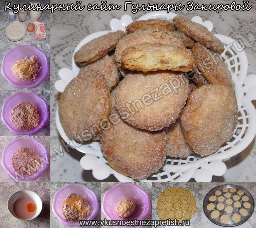 Печенье овсяное на йогурте1