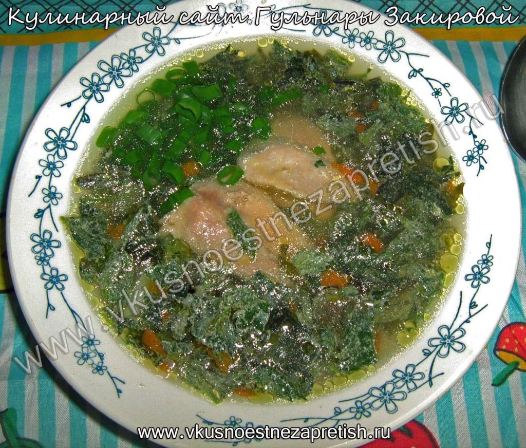 Крапивно-щавелевый суп
