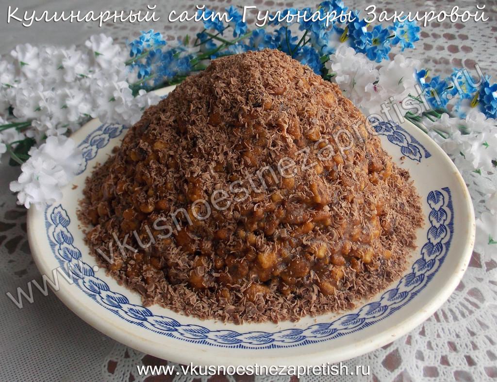 Муравейник традиционный рецепт