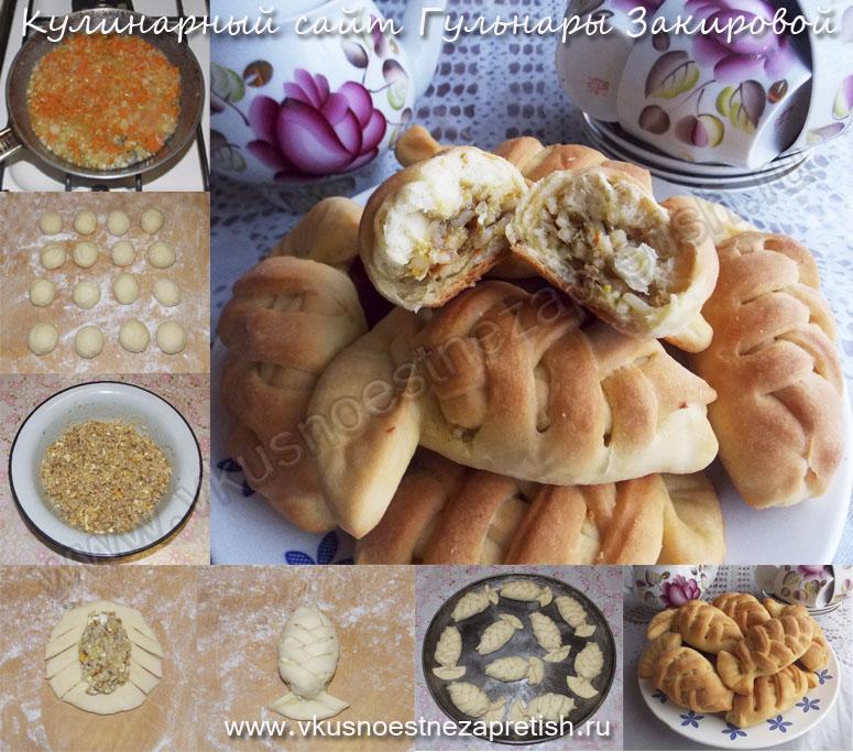 Пирожки-рыбки с рисом и рыбой-1